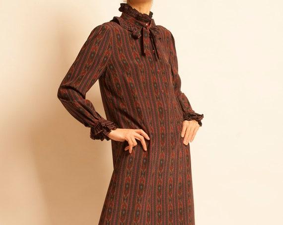 Evening dress Louis Féraud from 1980's