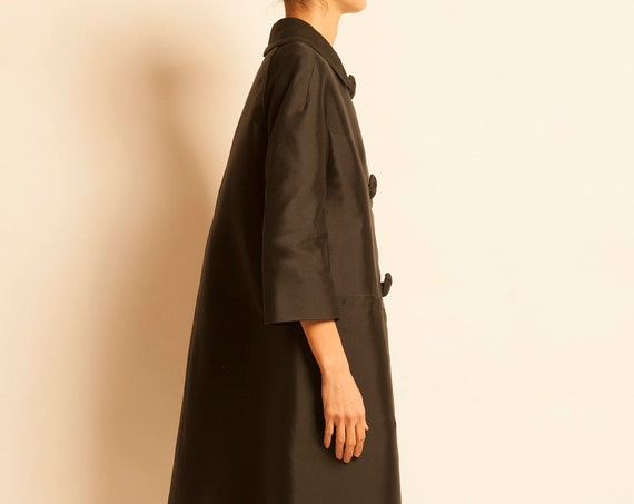 Cocoon coat NINA RICCI from 1960's