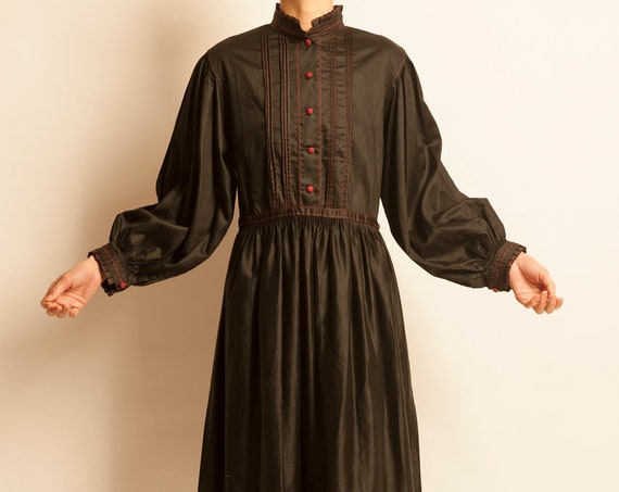 Smock day dress from 1950-60's