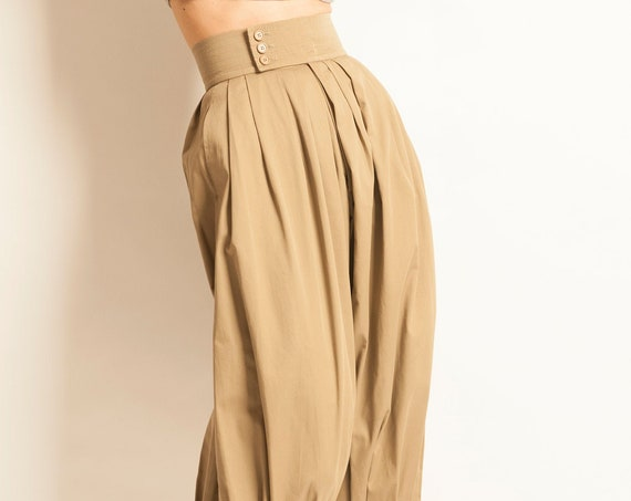 Pleated trousers Yves Saint Laurent from 1982
