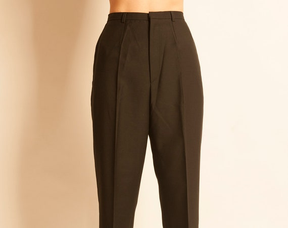 High waist trousers Yves Saint Laurent from 1990's