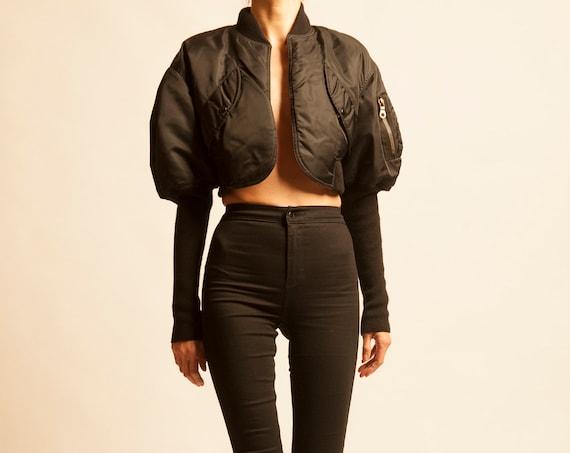 Bomber jacket Jean Paul Gaultier from 1990's