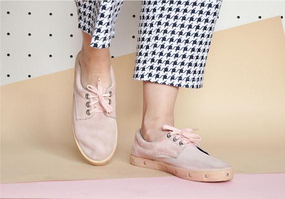 90s CLUB KID sneakers SUEDE sneakers rave sneakers