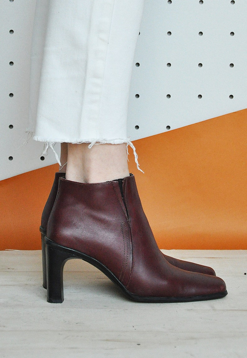 Chaussons S Bottines Cuir Cheville ClassiqueEtsy 90 En nmN80w