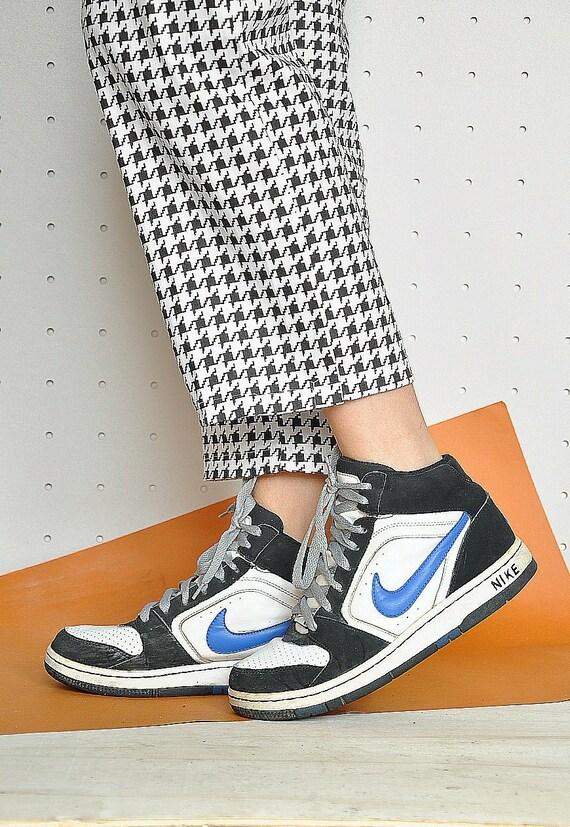 90er Jahre NIKE Turnschuhe HI TOP Sneaker Club Kind Turnschuhe Hallo oben Trainer Nike originale schwärmen retro Sneaker Turnschuhe Größe 7,5 US 5