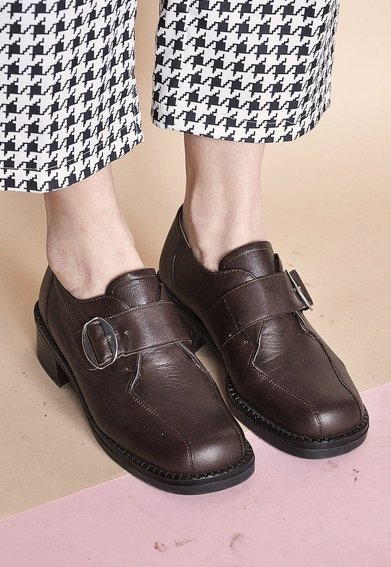90s CHUNKY loafers PLATFORM loafers GRUNGE loafers