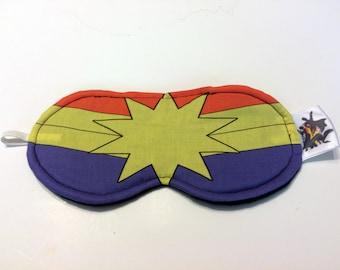 Captain Marvel Sleep Mask