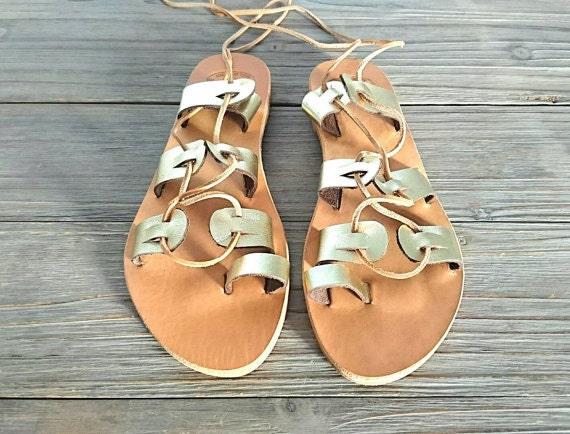 5afba2a62716 Gladiator Sandals Greek women s leather sandals Greek