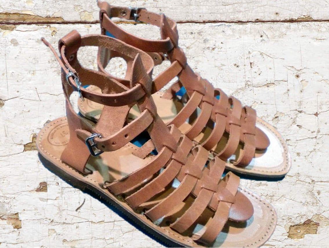 9178d9ac5d1d Leather sandals women sandals nude sandals authentic