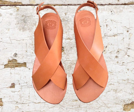 bf46bf3fa852 Leather sandals strappy sandals tan women sandals nude
