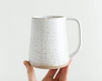 Wake Mug - Handmade pottery mug for coffee or tea