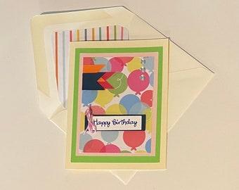 """DIY Card Kit - """"Happy Birthday"""""""