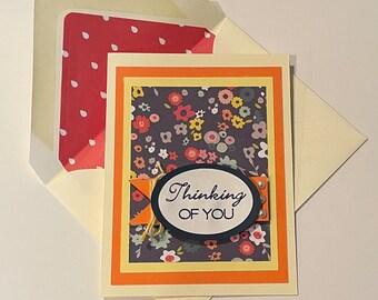 "DIY Card Kit - ""Thinking Of You"""