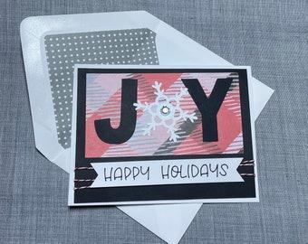 DIY Card Kit - Joy Happy Holidays