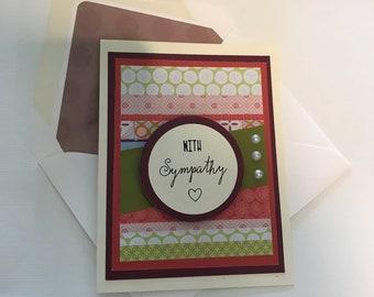 "DIY Card Kit - ""With Sympathy"""
