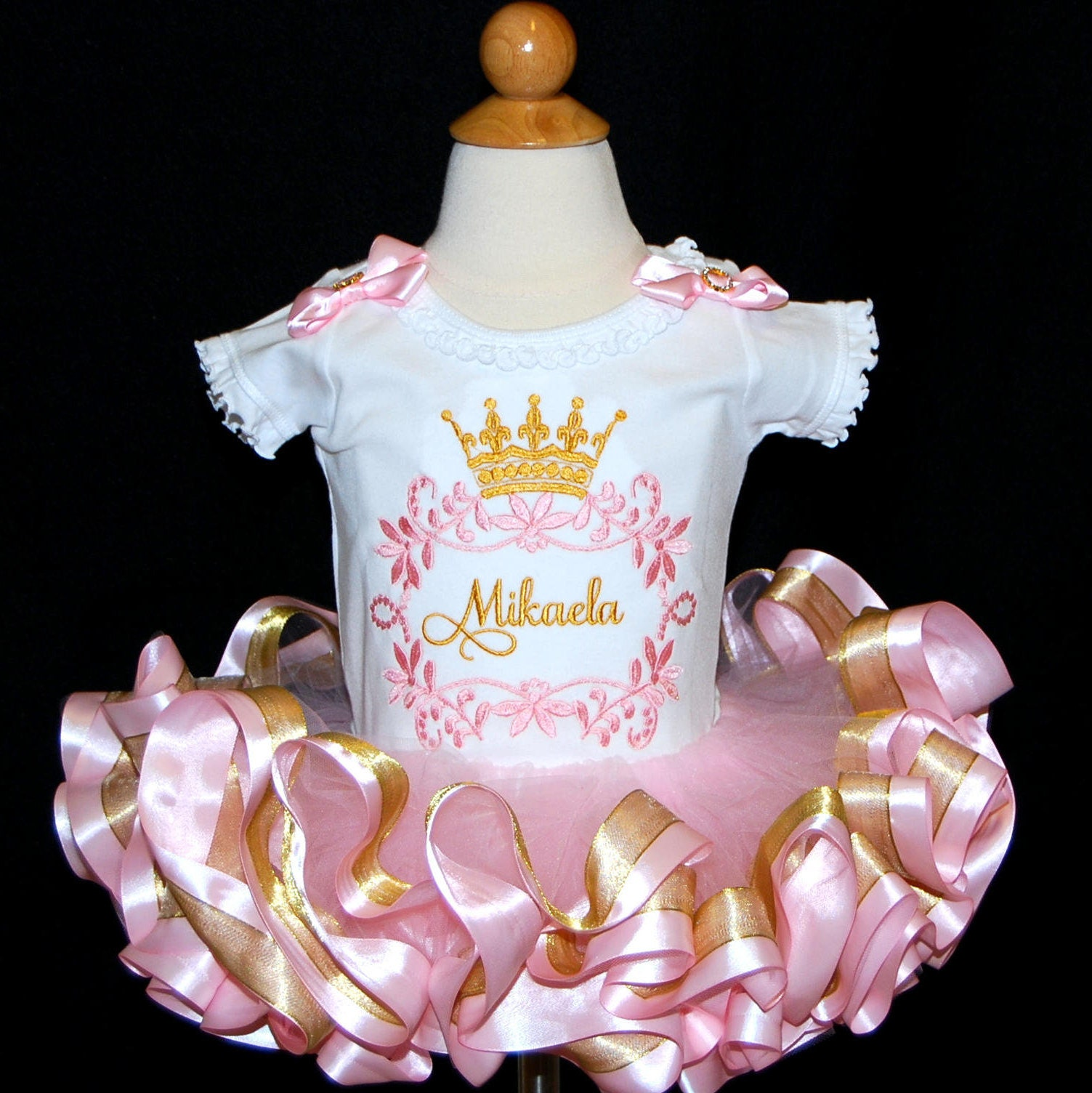 pink and gold birthday outfit princess birthday tutu outfit baby girl birthday dress tutu dress pink and gold 1st birthday outfit bloomers