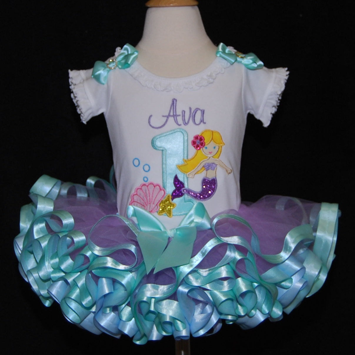 1st birthday girl outfit mermaid birthday outfit