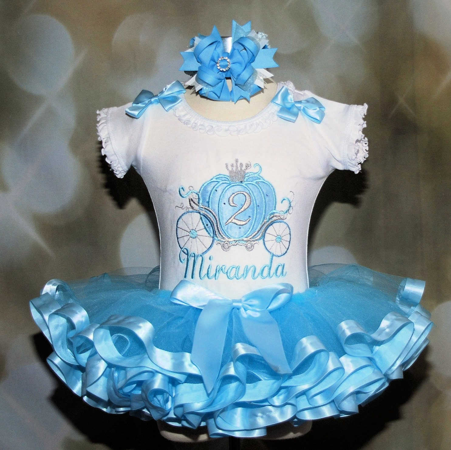 Princess Birthday outfit 2nd birthday girl outfit cake smash outfit princess tutu 1st birthday dress Cinderella dress birthday princess