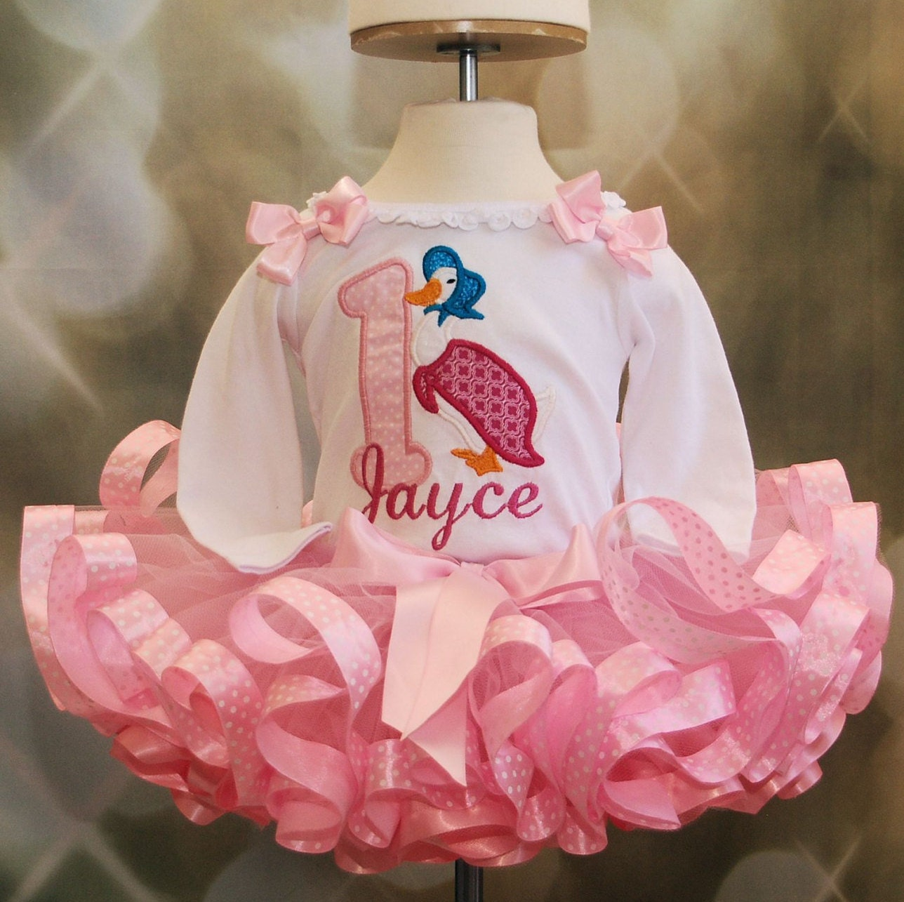 Jemima Puddle Duck from Peter Rabbit Tutu Outfit 2 pieces includes top and tutu only