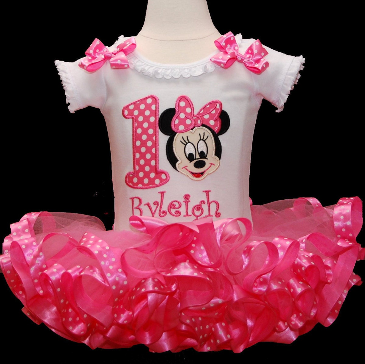 1st birthday girl outfit baby Minnie Mouse