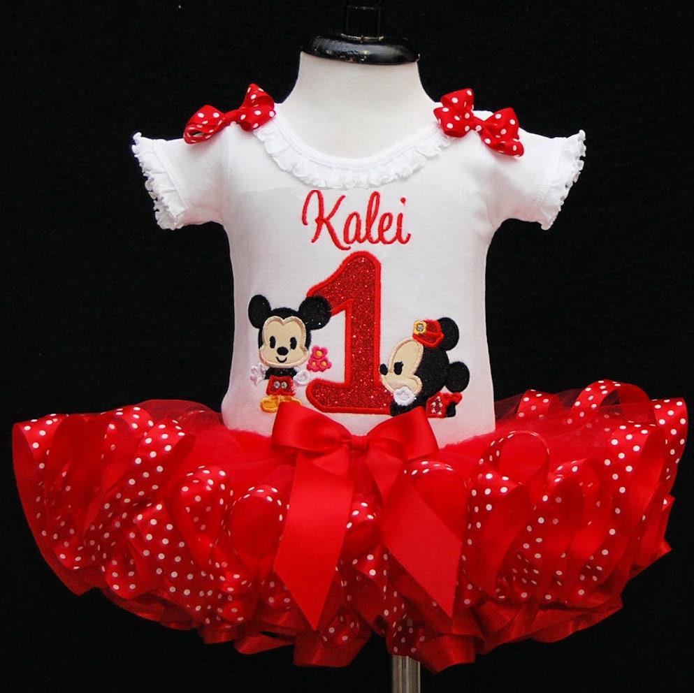 1st birthday girl outfit, minnie mouse cuties birthday outfit