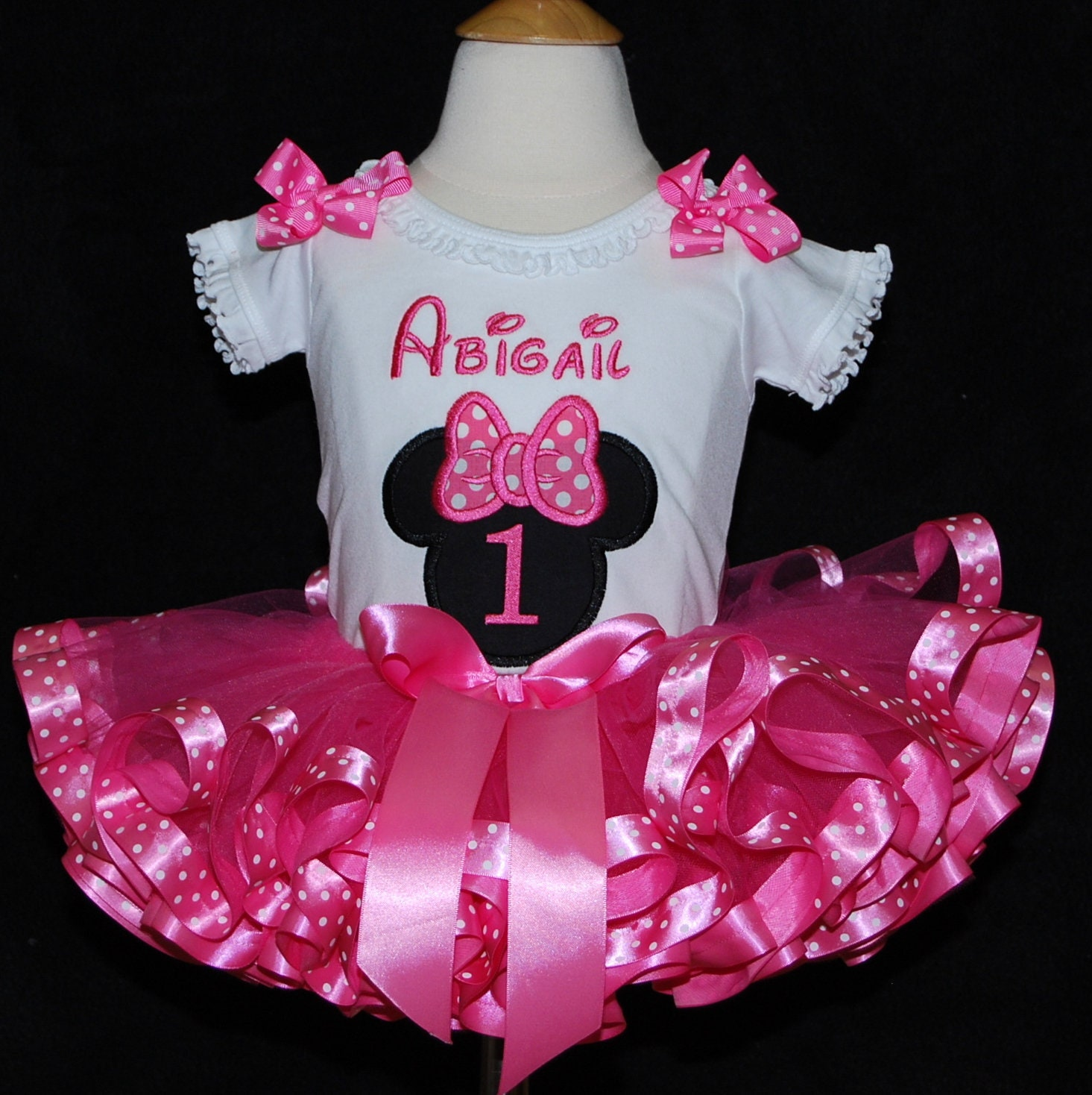 minnie mouse birthday outfit birthday tutu outfit personalized minnie mouse birthday shirt cake smash outfit minnie mouse tutu dress pink