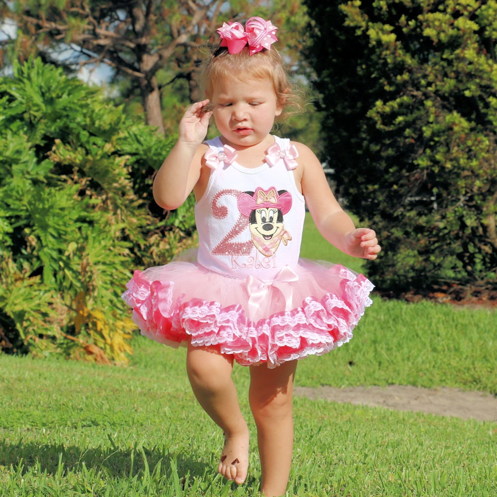 2nd birthday outfit girl, minnie mouse cowgirl second birthday tutu dress, minnie mouse 2nd birthday girl outfit, 2nd birthday party girl