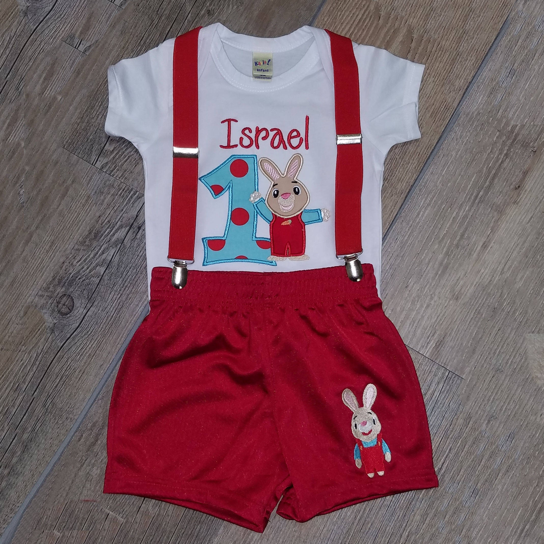 1st birthday  Harry Bunny outfit