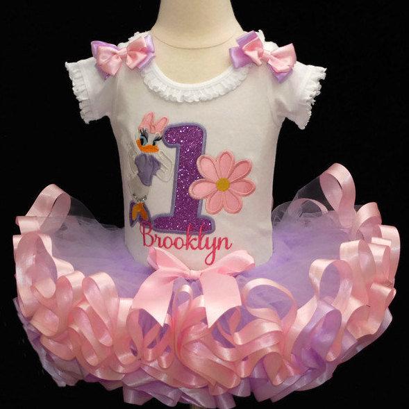 1st birthday girl outfit Daisy Duck
