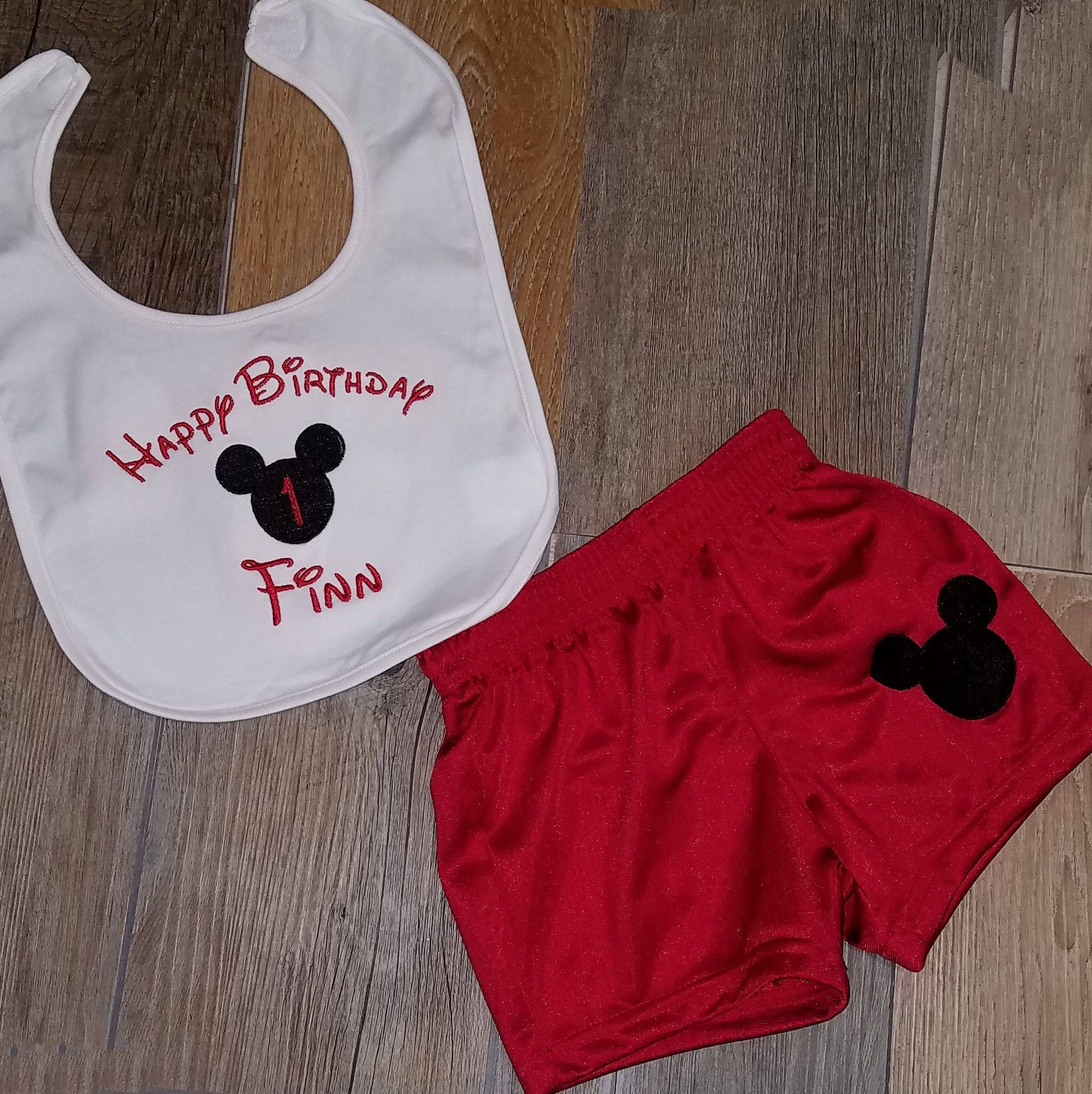 1st birthday boy outfit Mickey Mouse