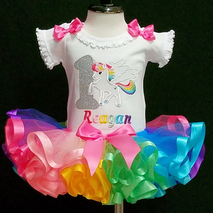 unicorn birthday unicorn tutu outfit unicorn 1st birthday unicorn cake smash unicorn rainbow birthday outfit unicorn pastel rainbow tutu