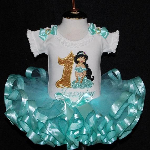 1st Birthday Princess Dress.1st Birthday Girl Outfit First Birthday Princess Dress Princess Jasmine Birthday Tutu Baby Girl First Birthday Dress Toddler Tutu Dress