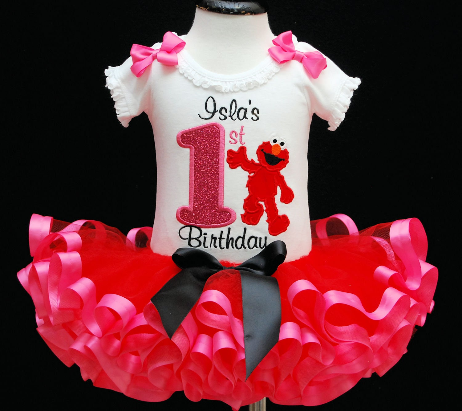 1st birthday girl outfit first birthday outfit little red monster