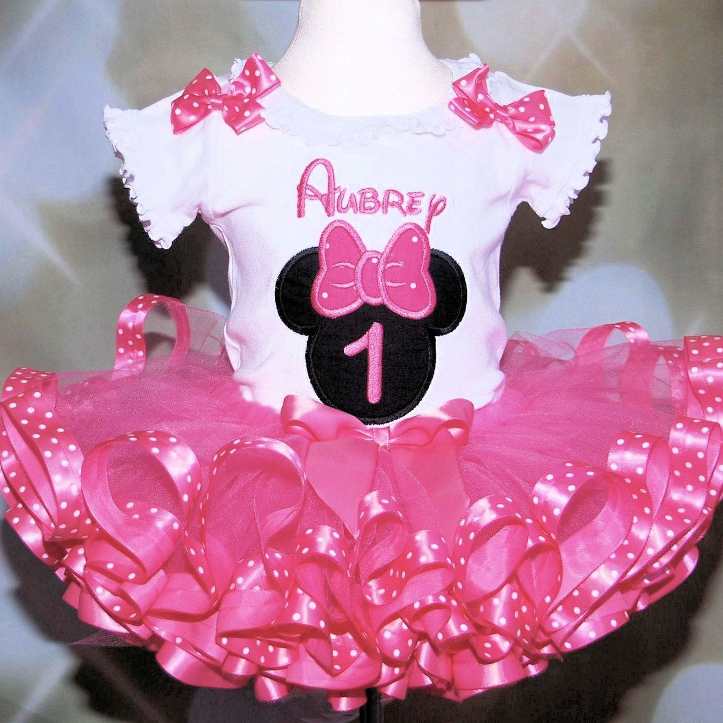 Minnie Mouse 1st Birthday Outfit pink icon