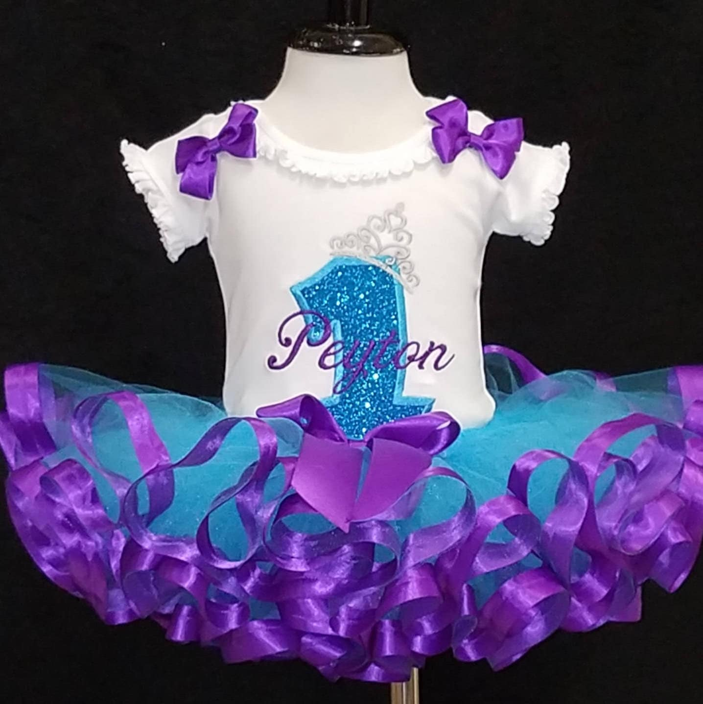 1st birthday tutu set, princess birthday tutu, cake smash set, birthday dress, ribbon trimmed tutu, 1st birthday girl, tutu outfit. baby 1st