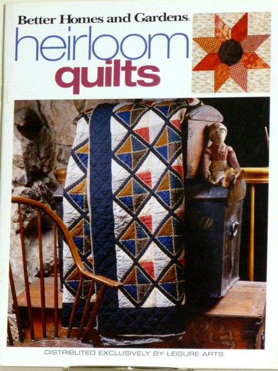 Heirloom Quilt Pattern Book Vintage Style Quilt Pattern All Etsy