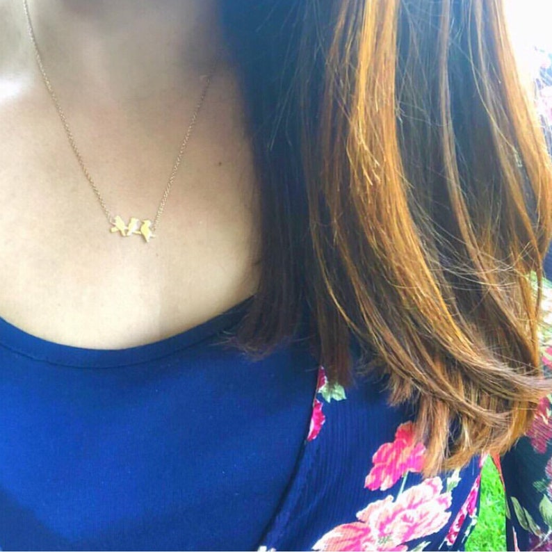 best seller it/'s gonna be alright little birds jewelry Bob Marley every little thing inspirational encouragement Three Birds Necklace