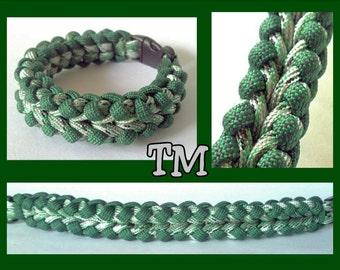 Spearmint Paracord Bracelet