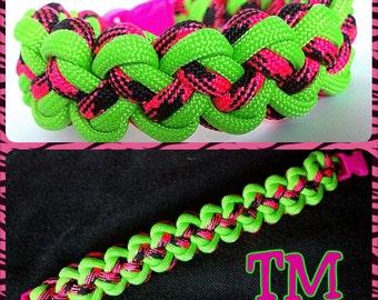 Watermelon Paracord Bracelet