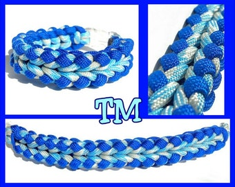 Zora Paracord Bracelet - 550 survival strap knotted unique macrame nautical rope jewelry accessories cuff zelda nintendo geekery video game