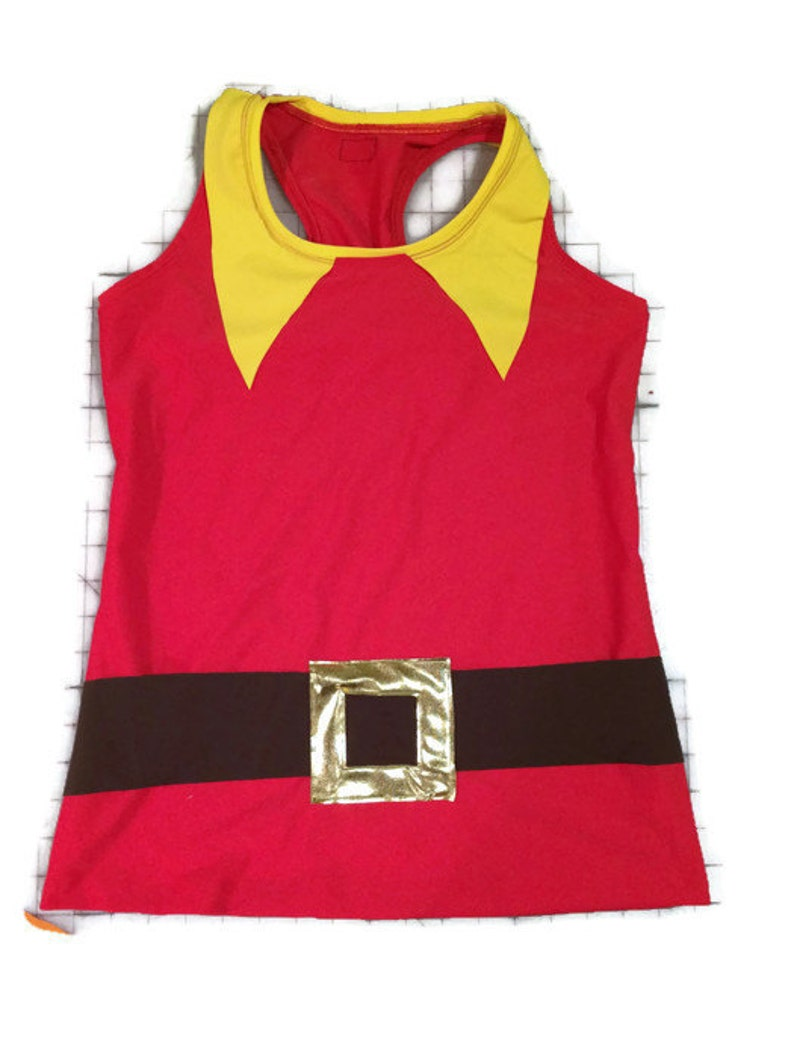 Beauty and Beast Gaston Inspired Racerback