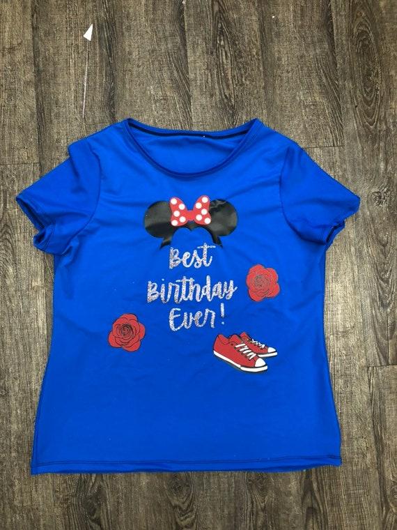 Custom Birthday Inspired Athletic Running Shirt
