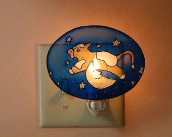 The Cow Jumped Over the Moon Night Light