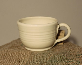 Soup Mug Cream Colored