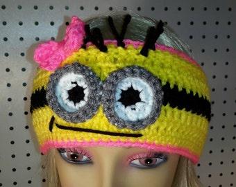 Male or Female Minion Headband 160ee9940e0a