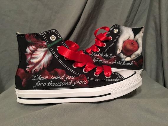 Twilight Custom Converse All Star shoes