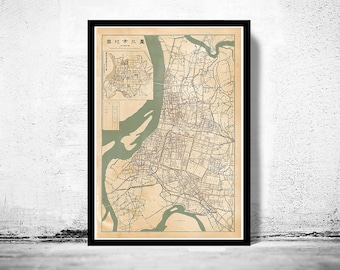 OLD MAPS AND POSTERS PRINTS Maps Reproductions By OldCityPrints - Old map reproductions