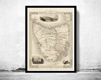 Old Map Of New Orleans Antique Map Etsy - Frames for old maps