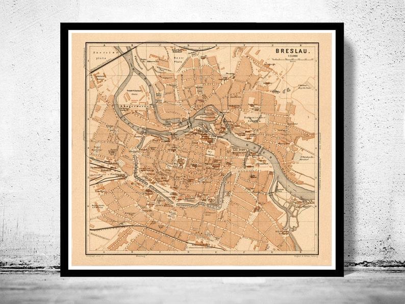 wroclaw poland map