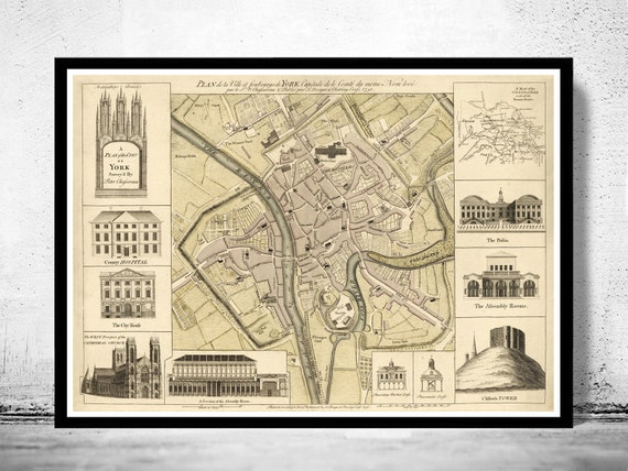 Old Map of York England 1750 United Kingdom York England Map on york in europe, newcastle upon tyne, york city, wayne county nc highway map, york middle school, new york water map, guy fawkes, york britain, new york interstate 84 map, yorkshire map, york county map, toledo map, edinburgh map, york tourist map, southern district of new york map, york minster, england's map, york on map, new york new jersey pennsylvania map, york virginia map, york maine map, new york weather forecast map, york lancaster map,